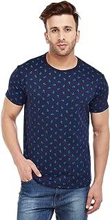 VIMAL JONNEY Men's Printed Round Neck Tshirt