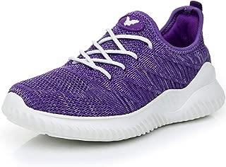 Womens Memory Foam Walking Shoes Lightweight Fashion Sports Gym Jogging Slip on Tennis Running Sneakers US5.5-10