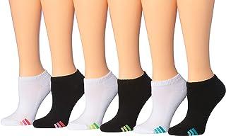 جوارب رياضية للنساء من تيبي تو مكونة من 6 أزواج منخفضة القطع