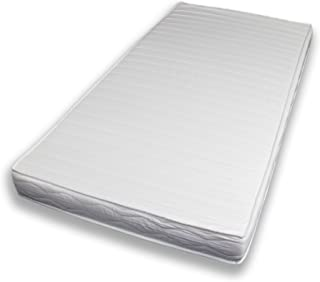 Sun Garden P100 Comfort Pur Schaumstoffmatratze, Polyester, Weiß, 90 x 200 cm