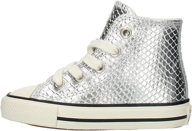 Converse 765894C Sneakers Bambina Argento 23 : Amazon.it: Moda