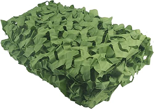 Camouflage parasol Vert Filet De Camouflage Poids Léger Tissu Oxford Armée Des Bois Peau De Chasse Plage Abri De Camping (Taille   8x10m)