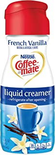 Coffeemate Liquid, French Vanilla, 16 Fl Oz (Pack of 6)
