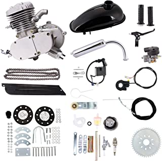 80cc Bike Bicycle Motorized 2 Stroke Petrol Gas Motor Engine Kit Set Black