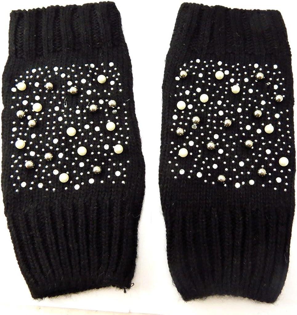 Mittens 'Illuminations' black.