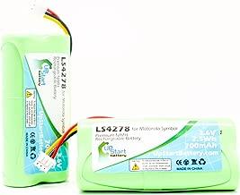 2X Pack - Motorola Symbol LS4278 Battery - Replacement for Motorola Symbol 82-67705-01, BTRY-LS42RAAOE-01 Barcode Scanner Battery (700mAh, 3.6V, NI-MH)