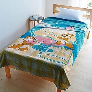 [ベルメゾン] ディズニー タオルケット 綿100% 洗える 毛布 ・タオルケット チップ&デール