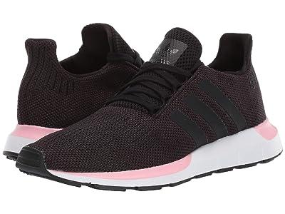 adidas Originals Swift Run W (Core Black/Core Black/True Pink) Women