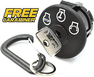 Ariens Gravely 03290500 Ignition Switch ZT34 ZT42 ZT43 ZT50 ZTX42 ZTX52 ZTXL42-3 Position Switch - Includes Free Carabiner Keychain!