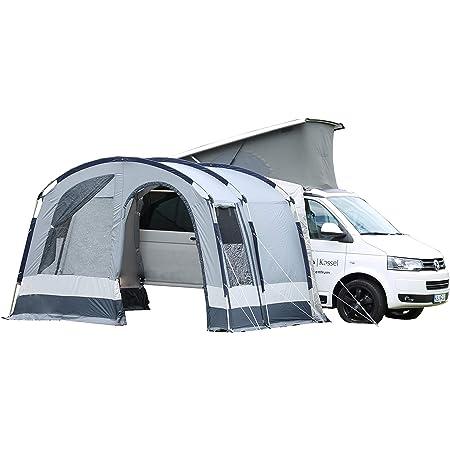 dwt Buszelt Maxum Basic 350x250cm Camping Mobilzelt Vorzelt grau Outdoor leicht Tent Familienzelt Auto vorzelt Teilzelt
