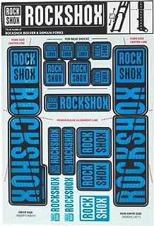 RockShox Decal Kit 35mm Dual Crown Blue
