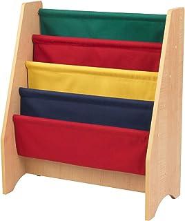 KidKraft Sling Bookshelf - Primary & Natural, Multi