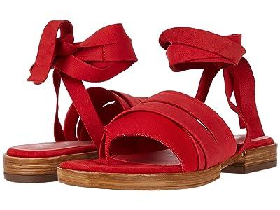 Free People Sun Valley Wrap Sandal (Red) Women