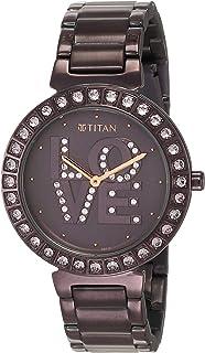 Titan Purple Self Expression Analog Dial Women's Watch-NM95110QM01 / NL95110QM01