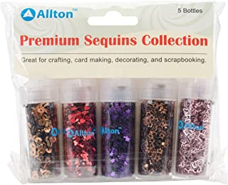 Allton Premium Sequins Collection, Multi-Colour, 12.7 x 15.24 x 2.54 cm