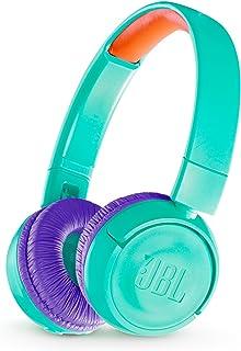 JBL JR300BT Kids Wireless On-Ear Headphones, Teal