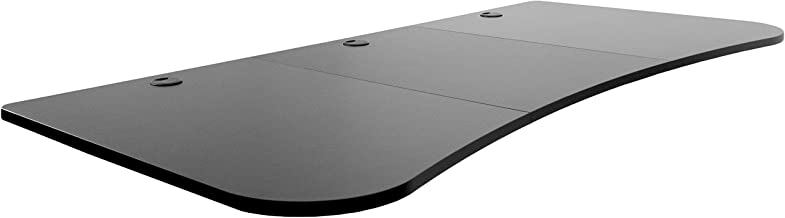 VIVO Black 63 x 32 inch Universal Table Top for Standard and Sit to Stand Height Adjustable Home and Office Desk Frames   3 Section Desktop (DESK-TOP1B)