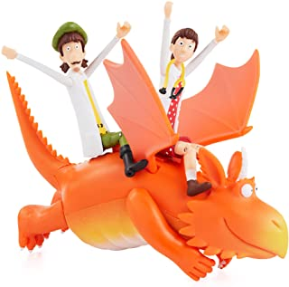 WOW! STUFF Zog Zog & the Flying doctors Story Time Playset Set | Collectable Articulated Character Action Figures | Offici...