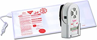 Secure 45BSET-5 Bed Exit Alarm Set for Fall Management and Wandering Prevention - High Quality Caregiver Patient Alert with Adjustable Volume and Tone - Batteries Included