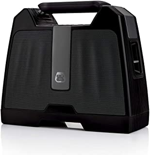G-Project G-Boom Wireless Bluetooth Boombox Speaker Rugged Portable Speaker with Rechargeable Battery (Black)