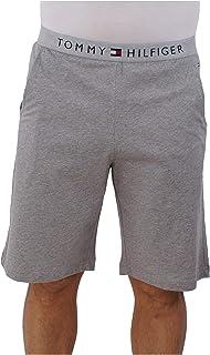 Tommy Hilfiger Classic Logo Men's Jersey Lounge Shorts, Grey Heather
