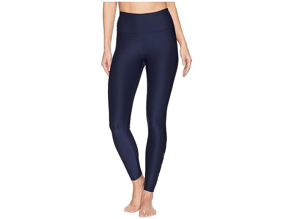 Nike Power 7/8 HBR Graphic Tights (Obsidian/Black) Women