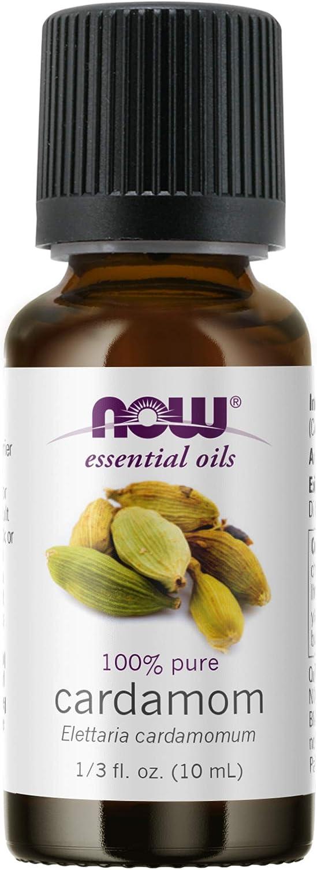 Now Foods Essential Oils Cardamom, 0.33 Ounce