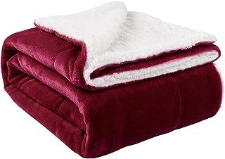 Nanpiper Sherpa Blanket Warm Blankets Super Soft Fuzzy...
