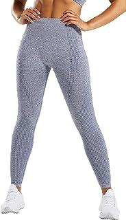 Dawwoti Running Tights for Women High Waist Running Leggings Butt Lifting Active Tights
