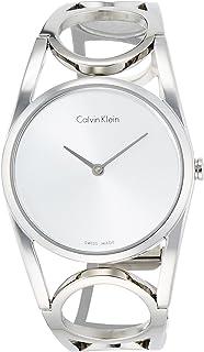 Calvin Klein Women's Digital Quartz Watch with Stainless Steel Strap K5U2M146
