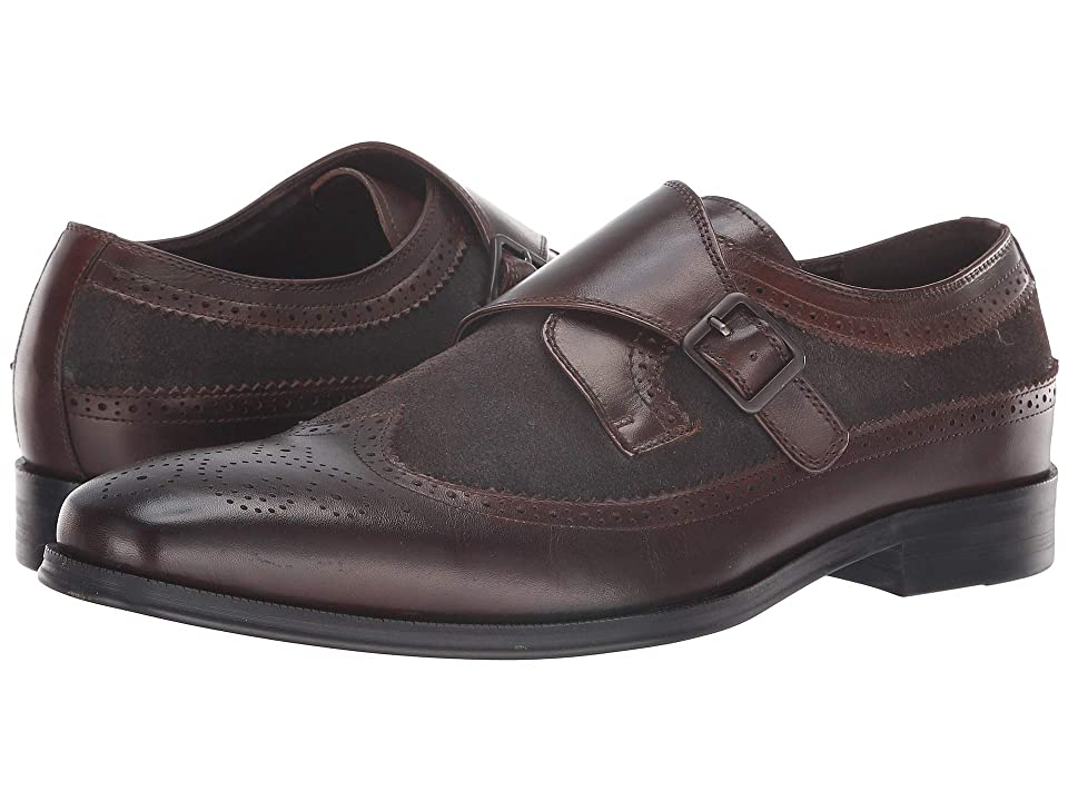 Mens Vintage Style Shoes| Retro Classic Shoes Tallia Orange Savona GreyBrown Mens Slip on  Shoes $175.00 AT vintagedancer.com