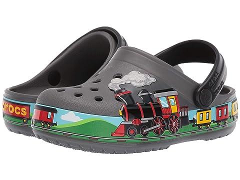 d5470c9c0a47 Crocs Kids CrocsFunLab Train Band Clog (Toddler Little Kid) at ...