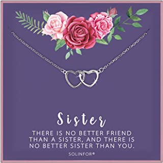 Best sister necklace for 2 Reviews