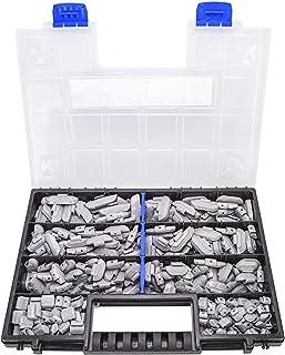 Haskyy 225 x Slagvikter för stålfälgar, sortiment av balansvikter, balanseringsvikter, 5-30 g för stålfälgar