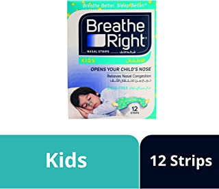 Breathe Right Kids Nasal Strips - 12 Pieces