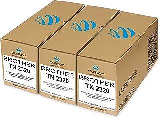 ttrecycling - Tóner compatible con Brother TN-2320, DCP-L2500D, DCP-L2520DW, DCP-L2540DN, HL-2300D, HL-2340DW, HL-2360DN, HL-2365DW, MFCL-2700DW (3 unidades, TN2320), color negro