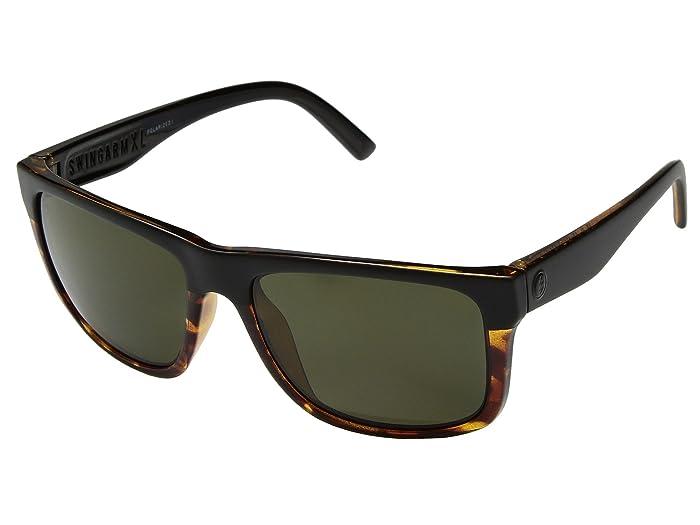 Electric Eyewear  Swingarm XL Polarized (Dark Side Tort/Ohm Polar Grey) Fashion Sunglasses