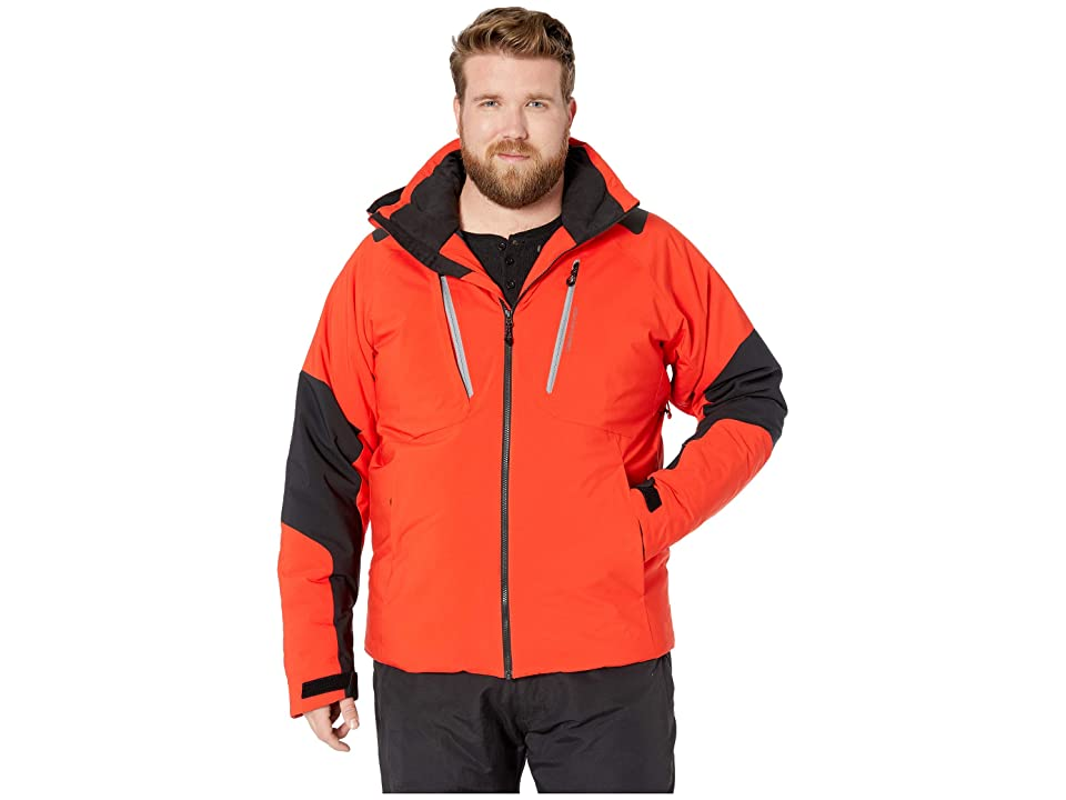 Obermeyer Big and Tall Foundation Jacket (Red) Men