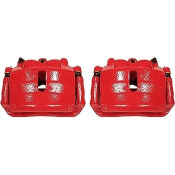 Transparent Red Hose /& Stainless Red Banjos Pro Braking PBK0073-TRD-RED Front//Rear Braided Brake Line