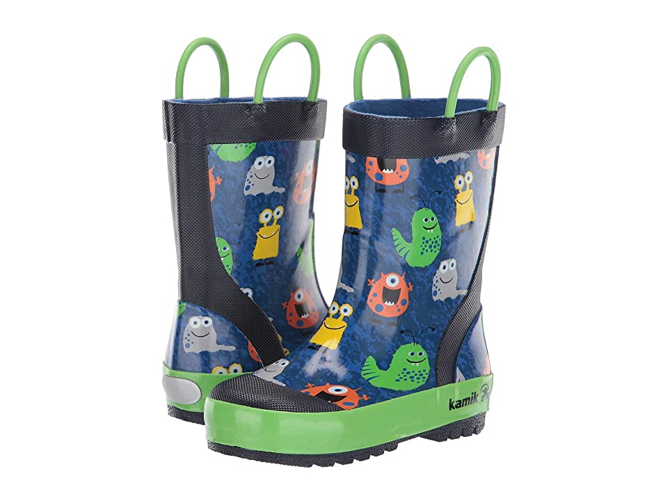 Kamik Kids Monsters (Infant/Toddler/Little Kid) (Blue) Kid