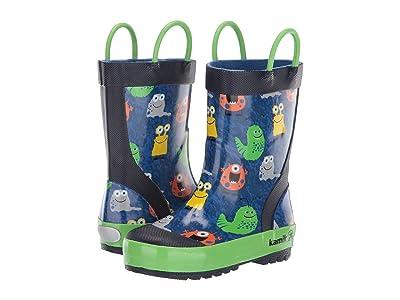 Kamik Kids Monsters (Infant/Toddler/Little Kid) (Blue) Kid