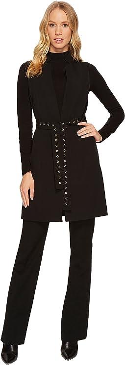 Calvin Klein - Sleeveless Vest w/ Stud Belt