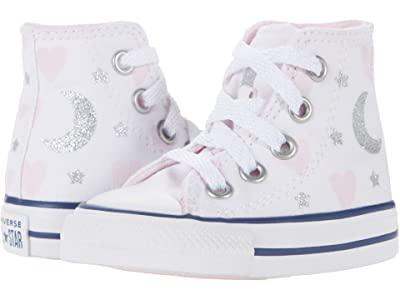 Converse Kids Chuck Taylor(r) All Star(r) Hi (Infant/Toddler) Girls Shoes