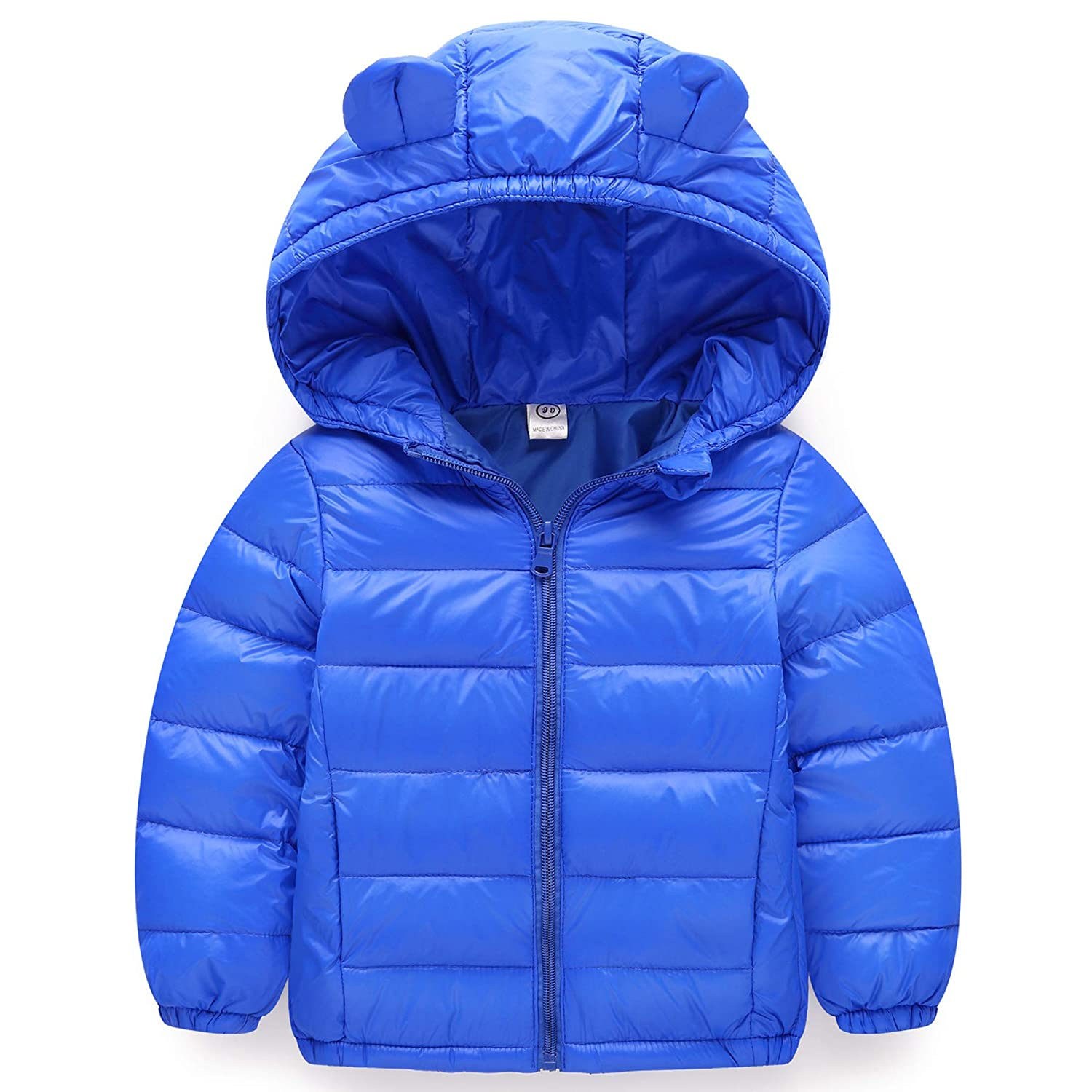 Kids Baby Hooded Down Max 79% OFF Jacket Lowest price challenge Winter Padded Coat Puffer Outerwear