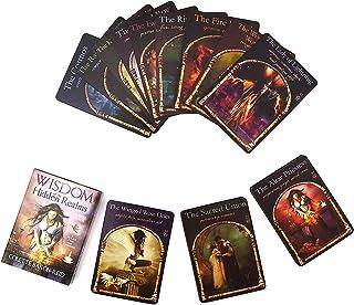 HALASHAO Wisdom of The Hidden Realms 44 kort, Tarot Solitaire Tarot Deck Familjefest Spel Spådom Destiny Deck Game, Engels...