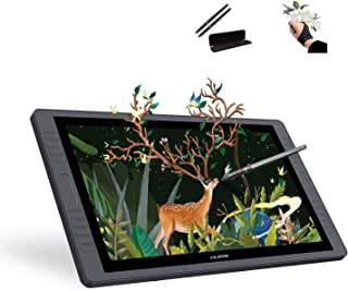 Huion KAMVAS GT-221 Pro HD Pen Display Drawing Monitor with 10 Press Keys and a Touch Bar on Each Side 8192 Pressure Sensitivity - 21.5 Inch