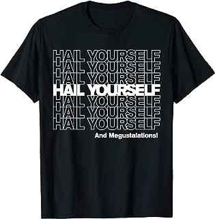 HAIL YOURSELF (White New York Bodega Thank You Bag) T-Shirt