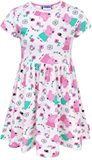 Girl's Short Sleeved Dress