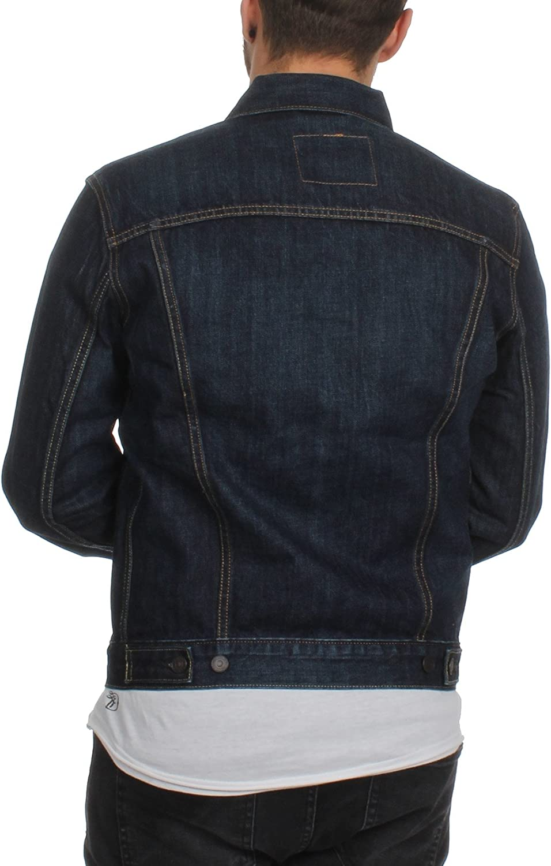 Levi's Herren The Trucker Jacket Blau (Conifer Trucker 147)