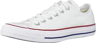 Converse Unisex Chuck Taylor All Star Ox Basketball Shoe (7.5 B(M) US Women / 5.5 D(M) US Men, Optical White)